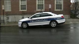 brookline massachusetts police cruiser