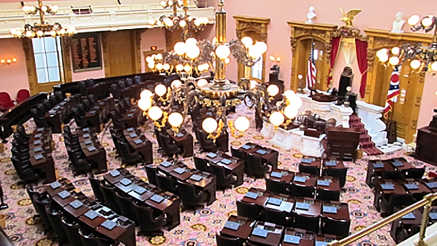 View of the Ohio House of Representatives