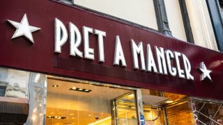 A Pret A Manger store in New York