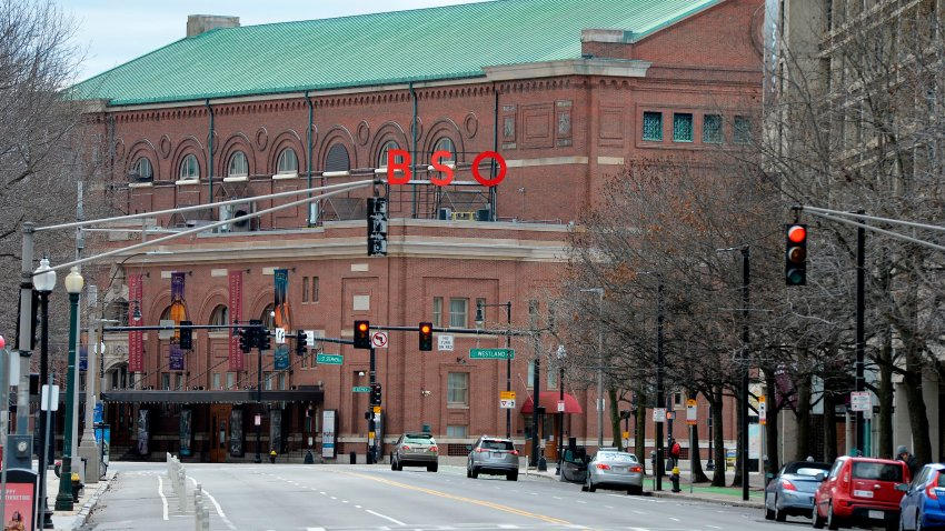 The Boston Symphony Orchestra building