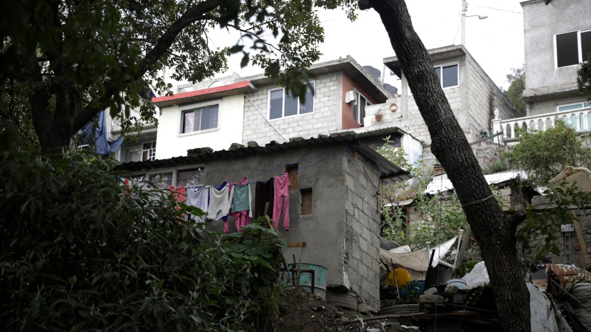 NICOLAS ROMERO, MEXICO - JULY 9, 2020: General view of the house where there was multi-femicide, the bodies of 4 girls and one woman lifeless with shoot were found in the El Gavillero neighborhood in northeast of Mexico City on July 9, 2020 in Nicolas Romero, Mexico- PHOTOGRAPH BY Mariana Bae / Eyepix Group/ Barcroft Studios / Future Publishing