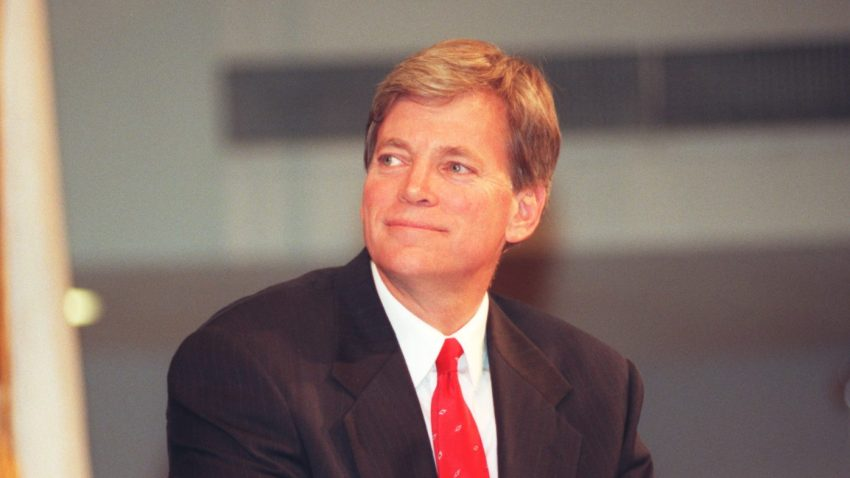 Former Ku Klux Klan leader David Duke was permanently banned from Twitter on Friday, the social media platform said.