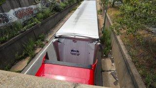 Truck Storrowed in Boston 07222020