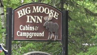 Big Moose Inn sign