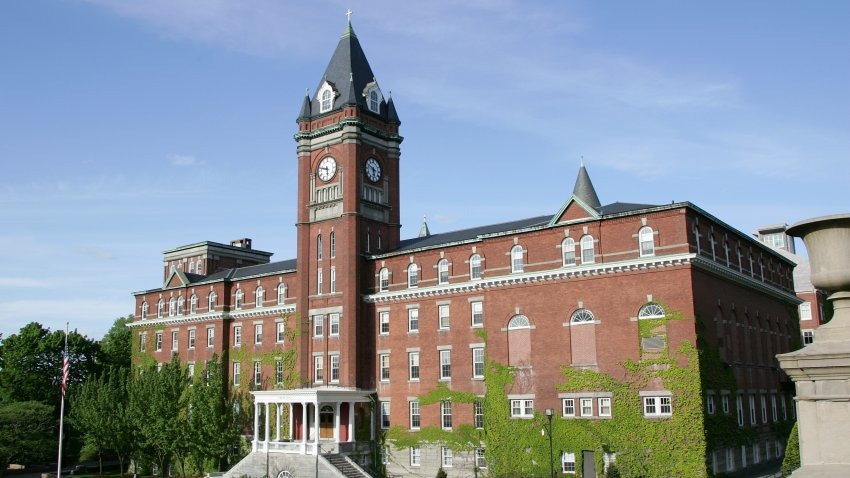 O'Kane Hall at Holy Cross College in Worcester.