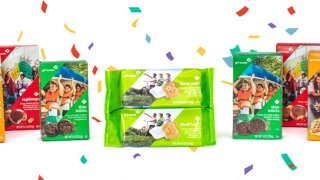 Girl Scouts Toast-Yay cookie