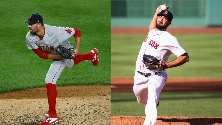 The Boston Red Sox dealt relief pitchers Brandon Workman and Heath Hembree to the Philadelphia Phillies in exchange for Nick Pivetta and Connor Seabold.