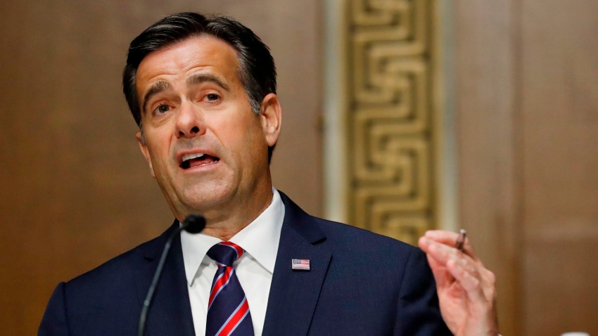 Rep. John Ratcliffe, R-TX, testifies before a Senate Intelligence Committee nomination hearing on Capitol Hill in Washington,DC on May 5, 2020.