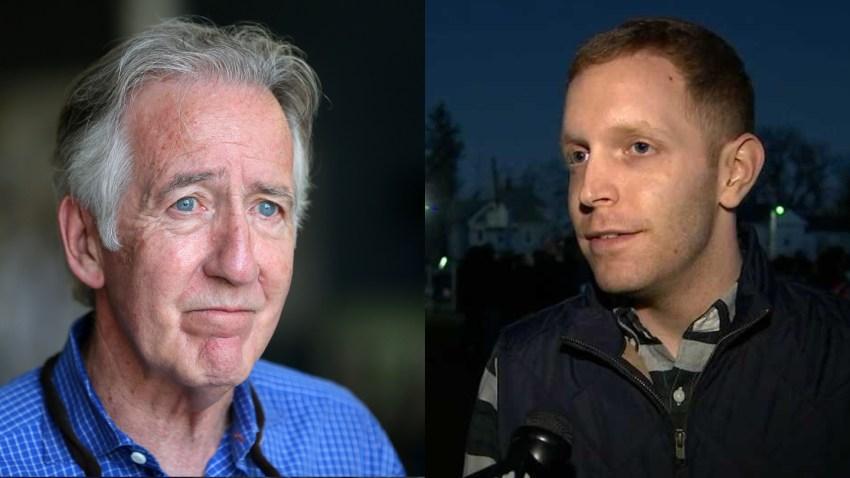 Richard Neal and Alex Morse