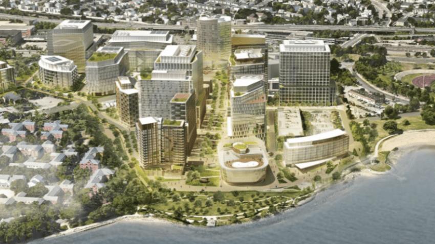 Dorchester Bay City proposal