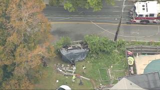 A deadly car wreck in Gloucester, Massachusetts