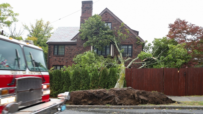 PHOTOS: Powerful Storm Causes Damage Across New England