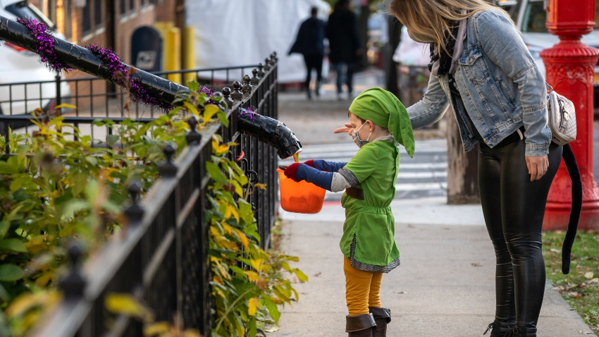 Halloween Celebrated In New York City Amid Coronavirus Pandemic
