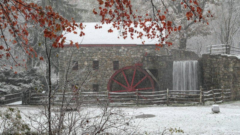 IMAGES: Stunning Photos From New England's 1st Widespread Snowfall