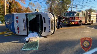 Hanover ambulance crash