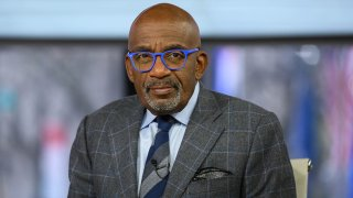 """In this Nov. 19, 2019, file photo, Al Roker on set of """"The TODAY Show"""" in New York City."""