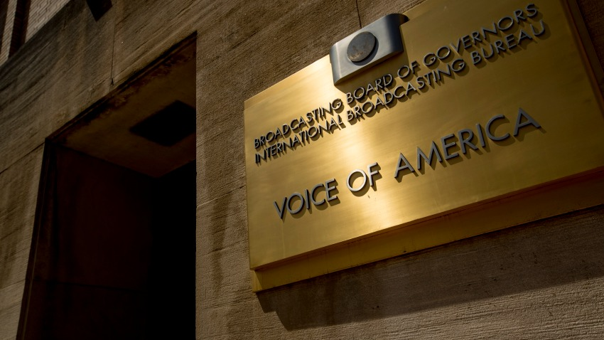 Voice of America building