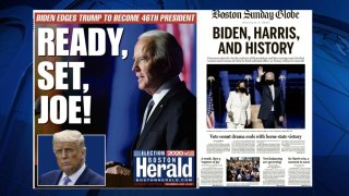 Globe and Herald Front Page