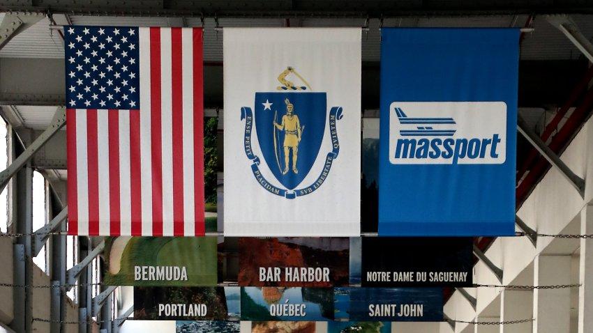 The Black Falcon cruise terminal in South Boston