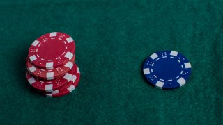 File photo of poker chips