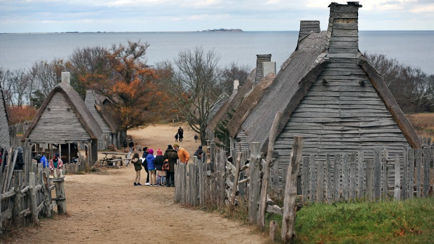 This Nov. 14, 2019, file photo shows what was then known as Plimoth Plantation in Plymouth, Massachusetts