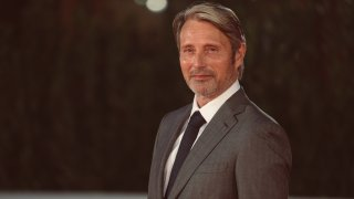 Mads Mikkelsen attends the red carpet of the movie ''Druk'' during the 15th Rome Film Festival on October 20, 2020 in Rome, Italy
