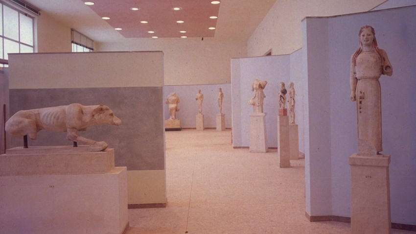 New sculpture gallery at Acropolis Museu
