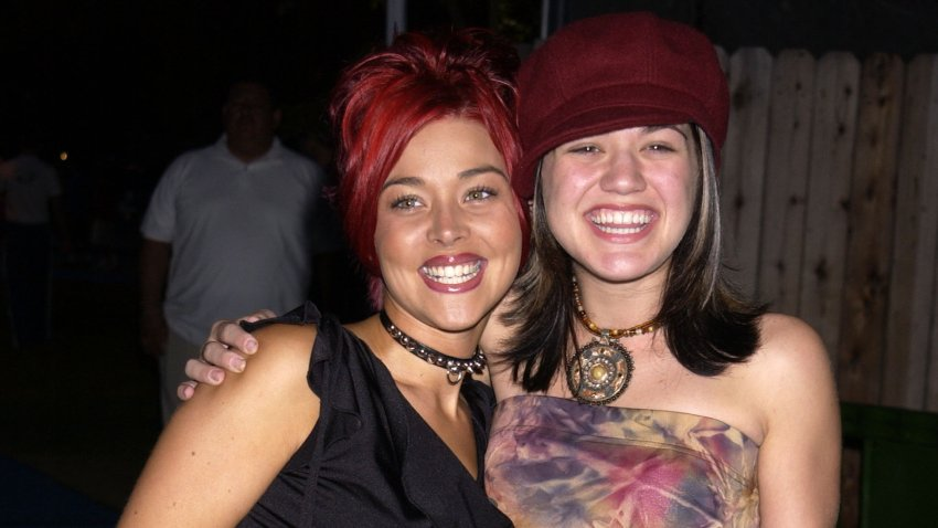 Nikki McKibbin and Kelly Clarkson