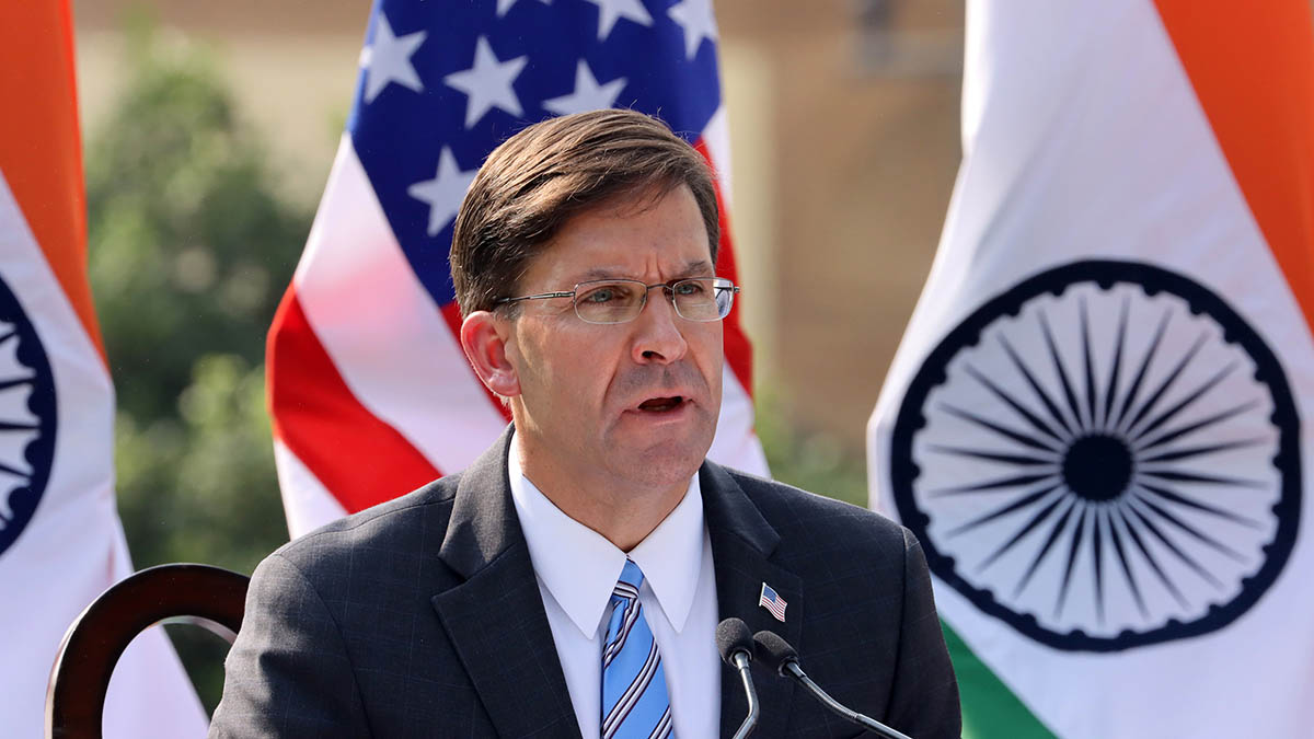 Defense Secretary Esper Has Prepared a Resignation Letter: Officials – NBC  Boston