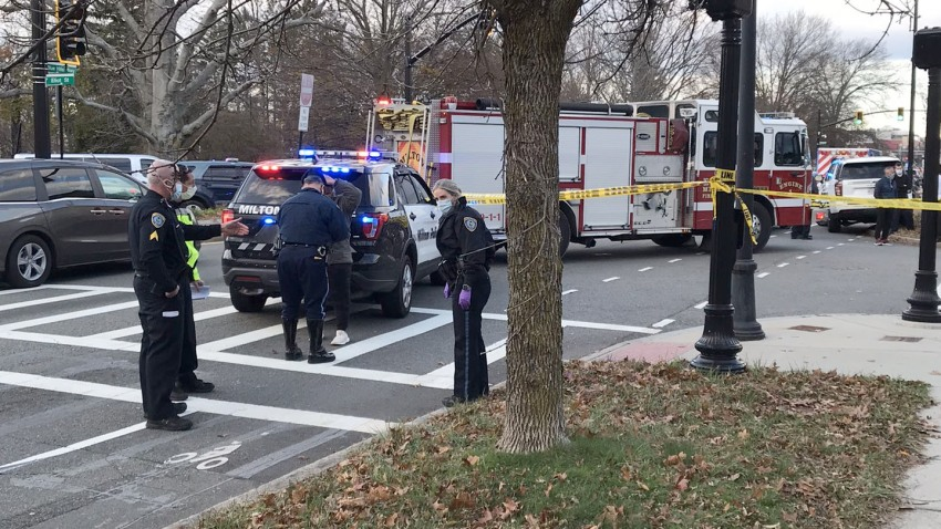 Milton Pedestrian Crash