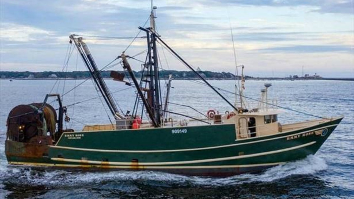 Four Fishermen Missing After Boat Sinks Off Massachusetts Coast
