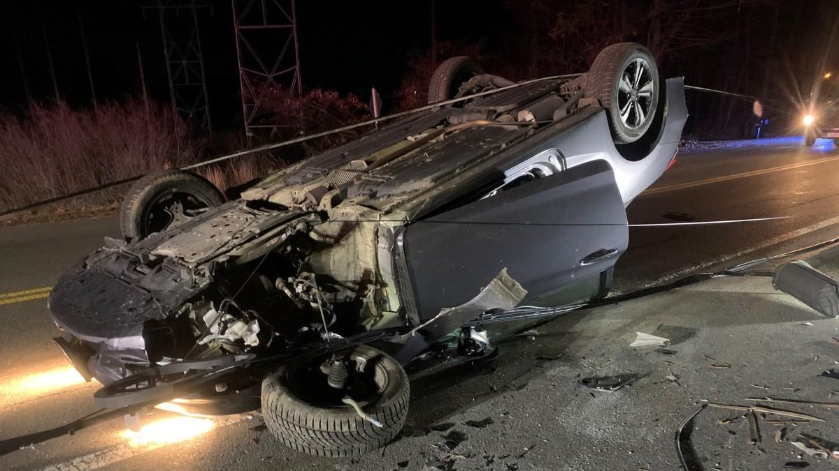 Wires Come Down on Car in Littleton Crash – NBC Boston