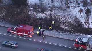 Randolph crash scene 12232020