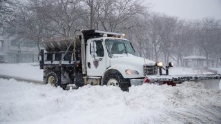 East Boston snow cleanup