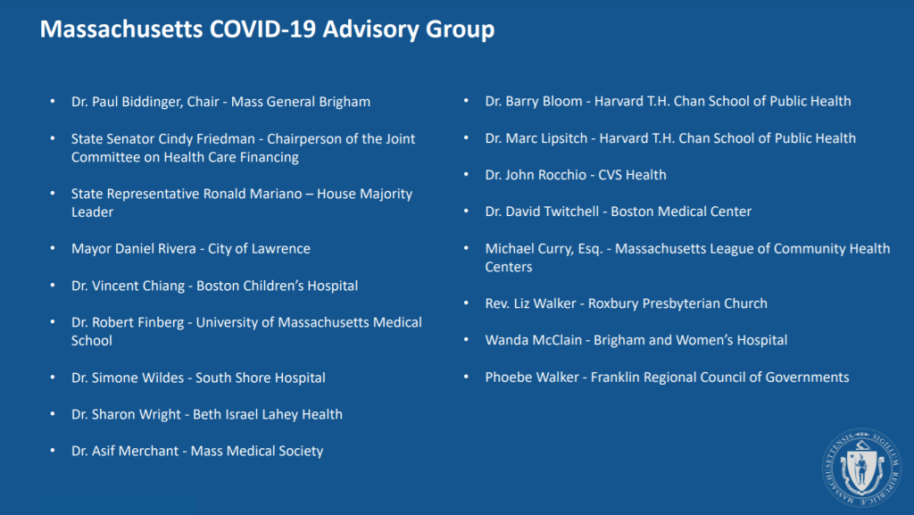 Who decided who gets the coronavirus vaccine in Massachusetts?