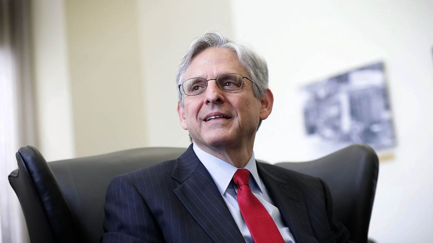 Merrick Garland, then a Supreme Court nominee, on May 10, 2016, in Washington, D.C.