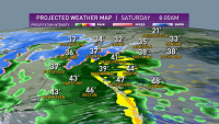 Snow and Rain Expected for Parts of New England Saturday