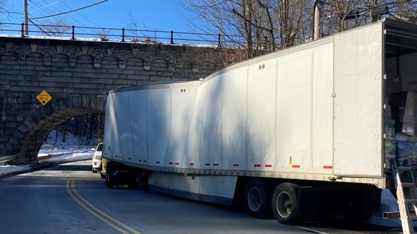 northborough truck struck