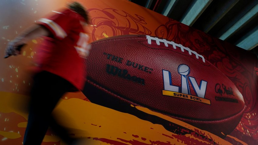 Chiefs Buccaneers Super Bowl Football