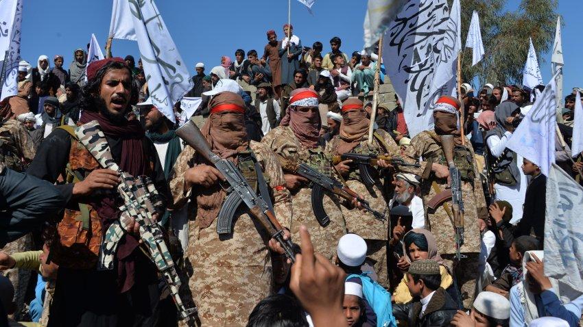Afghan Taliban militants