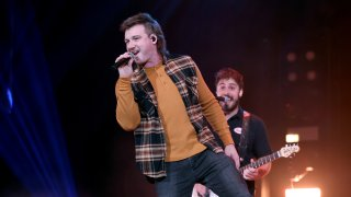 Morgan Wallen performs onstage at the Ryman Auditorium on January 12, 2021 in Nashville, Tennessee.