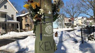 Memorial for Yale graduate student Kevin Jiang