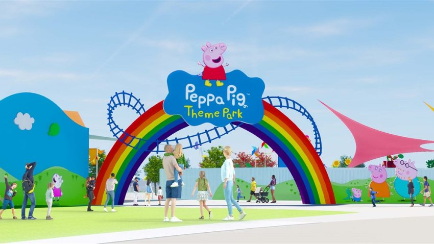 The Peppa Pig-themed theme park will open at Legoland Florida in 2022.