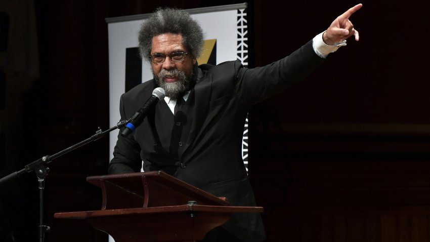 Cornel West speaks at Harvard