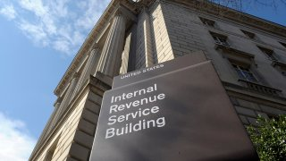 FILE - In this March 22, 2013 file photo, the exterior of the Internal Revenue Service (IRS) building in Washington.