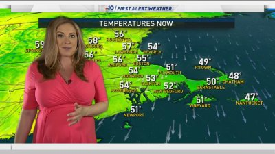 Spring Air, Variable Clouds, High 50s Tuesday and Wednesday