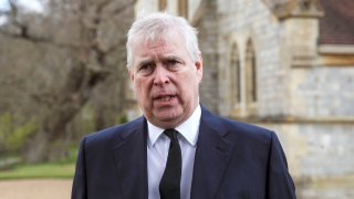 Britain's Prince Andrew during a television interview