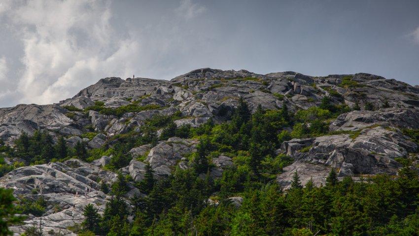 A file image of Monadnock Mountain Peak in New Hampshire's Monadnock State Park.