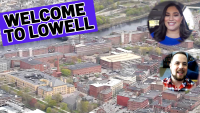 Aerial Tour of Lowell: Fly Over 'the Mill City'