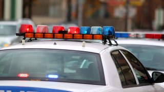 Police siren lights